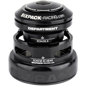 Sixpack Department 2In1 Styrelager EC3449/28.6 I EC49/30 and EC34/28.6 I EC49/40 Svart